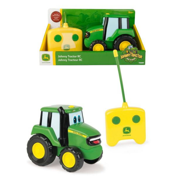 Tomy John Deere Johnny Tractor RC Remote Controlled - Johnny Tractor And Friends